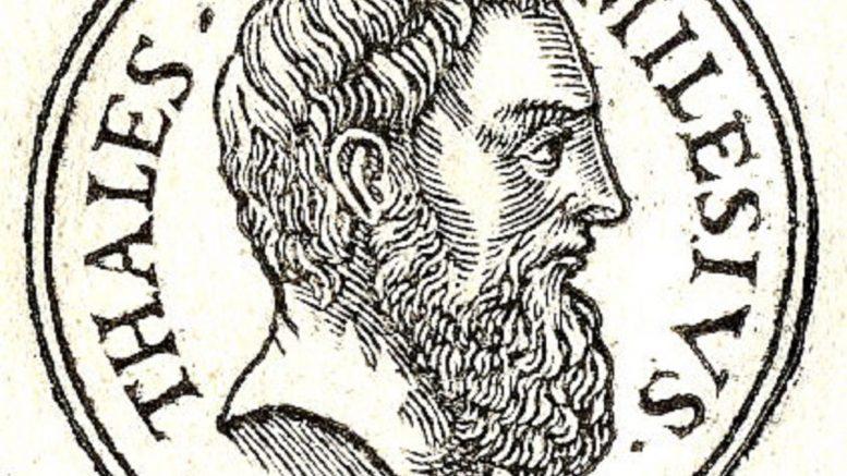 Cuáles son las aportaciones de Tales de Mileto